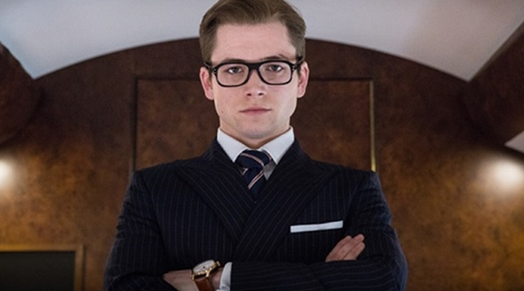"Kingsman The Secret Service Interview Taron Egerton: More Like A Golden Shower (""Kingsman: The Golden"